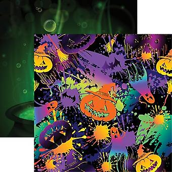 Halloween Party Double-Sided Cardstock 12