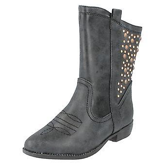 Girls Spot On Boots H5021