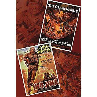 John Wayne Poster Poster Print