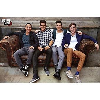Big Time Rush - Couch Poster afdrukken
