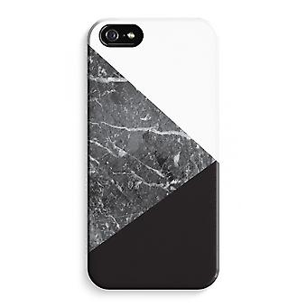 iPhone 5C Full Print Case (Glossy) - Marble combination