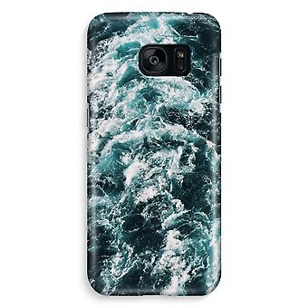 Samsung S7 Edge Full Print Case - Ocean Wave