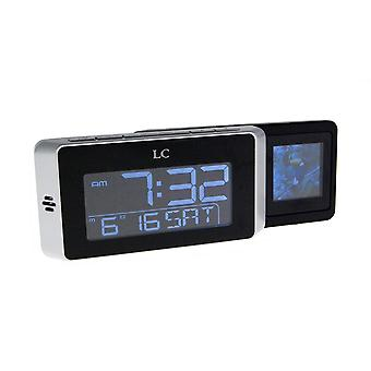 LCD Travel Alarm with Digital Photo Frame