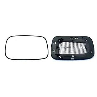 Left Mirror Glass (heated) & Holder for VOLVO S40 mk2 2004-2007