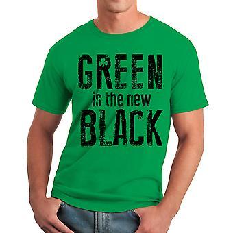 Humor den nya svarta män Kelly Green rolig T-shirt