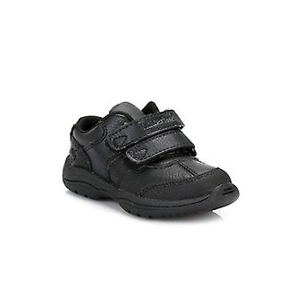 Timberland Toddlers Black Woodman Park Oxford Leather Shoes