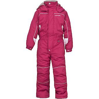Overtredelse gutter & jenter Laguna ett stykke polstret Ski Dress