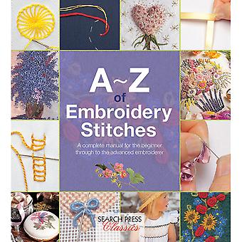 Search Press Books-A-Z Of Embroidery Stitches SP-11617
