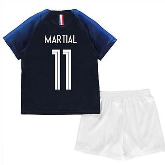 2018-2019 France Home Nike Mini Kit (Martial 11)
