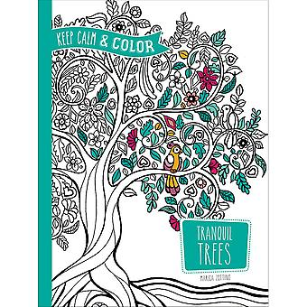 Dover Publications-Keep Calm & Color: Tranquil Trees