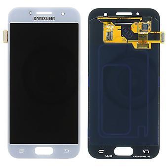 Samsung Galaxy A320 ekran LCD - Service Pack - niebieski
