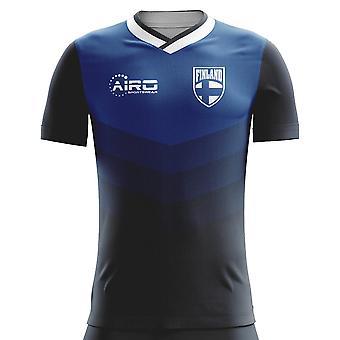 2018-2019 Finland Away Concept Football Shirt