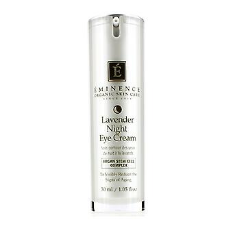 Eminence Lavender Age Corrective Night Eye Cream - For Normal to Dry Skin, especially Mature 30ml/1.05oz