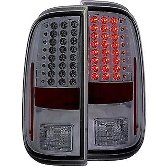 AnzoUSA 311169 Smoke LED Taillight for Ford F-250/Super Duty - (Sold in Pairs)