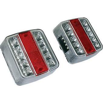 LEDs Trailer tail light Turn signal, Brake light, Tail light, Number plate light