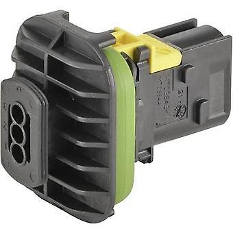 TE Connectivity Socket enclosure - PCB HDSCS, MCP Total number of pins 3 1-1703843-1 1 pc(s)