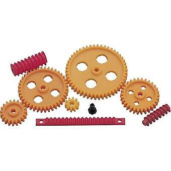 Modelcraft Plastic Cogwheel set Module Type: 1.0 No. of teeth: 10, 20, 30, 40, 50 1 Set