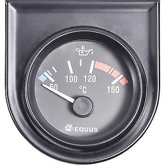 Temperatura de agua/aceite de Equus 842109 calibre 60-160 º C 12V
