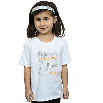 Ragazze Disney Dumbo Segui il tuo sogno t-shirt
