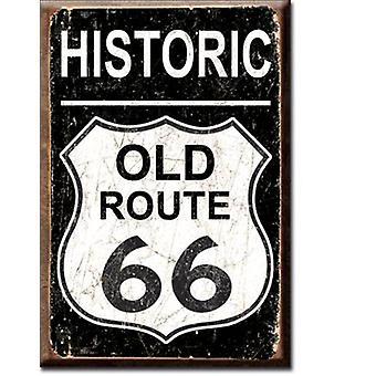 Historische oude Route 66 Fridge Magnet