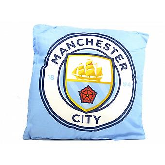 Manchester City FC Official Football Crest Cushion