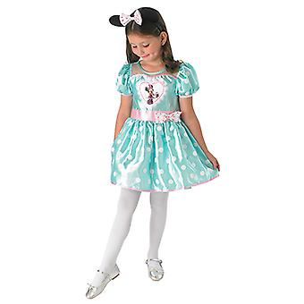 Minnie mouse Mint cupcake costume for children