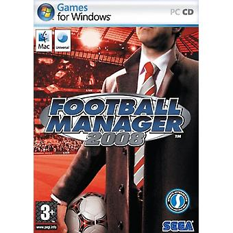 Football Manager 2008 (PCMac) - Factory Sealed