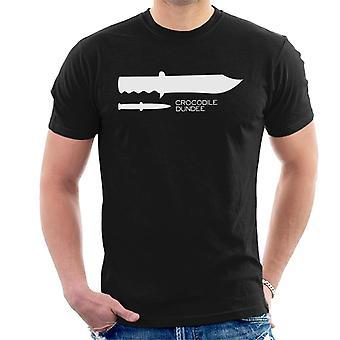 Crocodile Dundee Minimal Men's T-Shirt