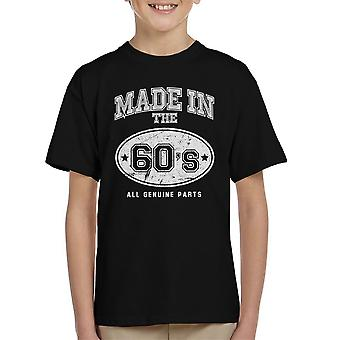 Made In 60s All Genuine Parts Kid's T-Shirt