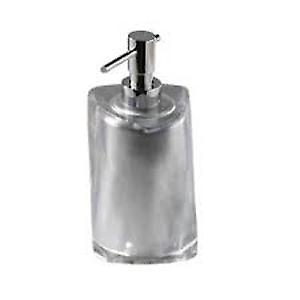 Gedy Twist Soap Dispenser Silver 4681 73