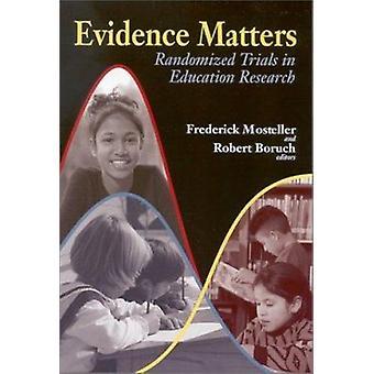Questions de preuve - randomisés dans Education Research par Frederic
