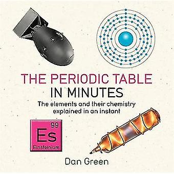 Tableau périodique en Minutes par Dan Green - livre 9781784296056