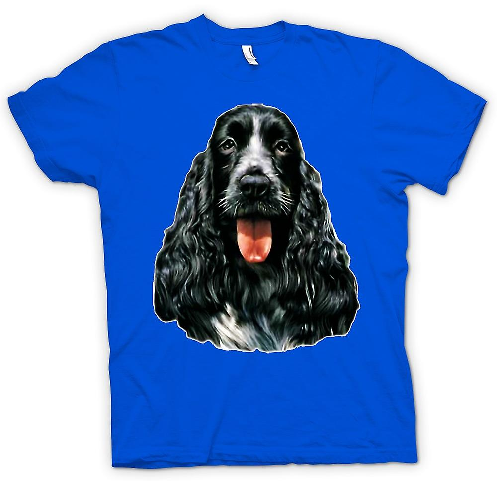 Mens T-shirt-Cocker Spaniel - Haustier - Hund