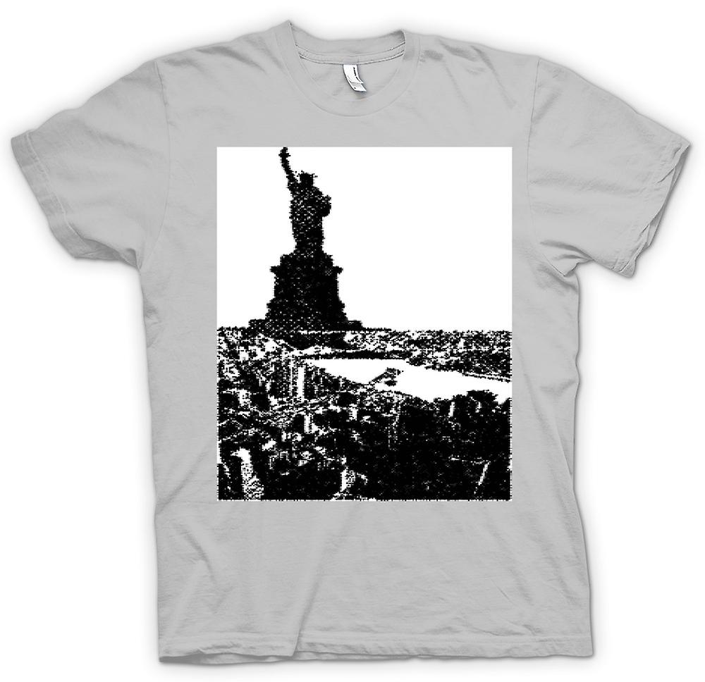 Mens T-shirt - USA Statue of Liberty Art