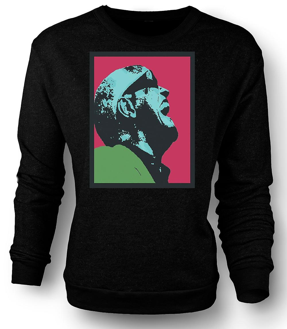 Mens Sweatshirt Ray Charles - Pop Art