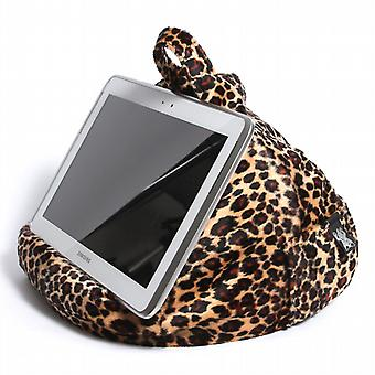 iBeani iPad, Tablet & eReader Bean Bag Stand / Cushion - Leopard