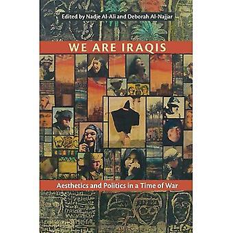 Nous sommes des Irakiens: Esthétique et politique en temps de guerre (Contemporary Issues in the Middle East)