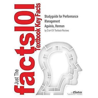 StudyGuide för prestandahantering av Aguinis, Herman, ISBN 9780136151753