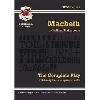 GCSE Shakespeare: Macbeth - la lecture complète, pt. 1 & 2 (Gcse anglais annotée texte)