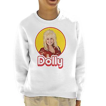 Dolly Parton Retro-Pop-Ikone Kinder Sweatshirt
