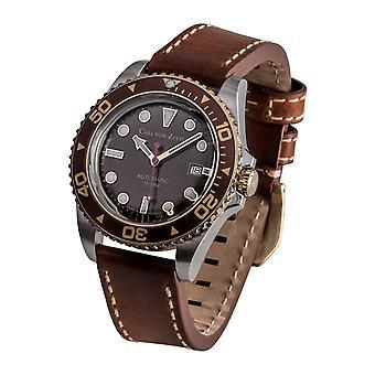 Carl di Zeyten uomo orologio da polso automatico No. 30 CVZ0030BR