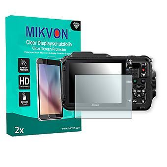 Nikon COOLPIX AW120 Screen Protector - Mikvon Clear (Retail Package con accessori)