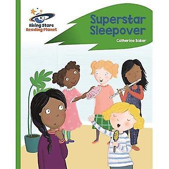 Green Planet - Sleepover Superstar - de lecture: Rocket Phonics (Rising Stars lire la planète)