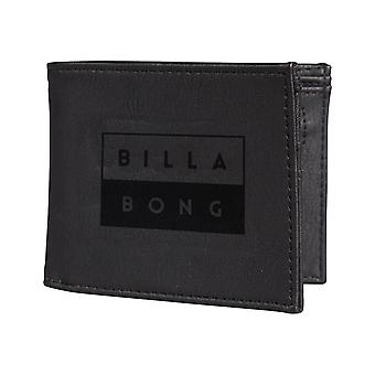 Billabong Die Cut Faux Leather Wallet