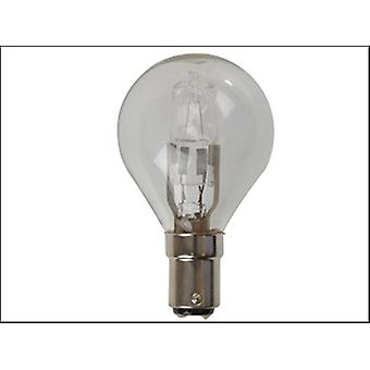 Eveready Lighting G45 ECO Halogen Bulb 28 Watt (36 Watt) SBC Small Bayonet Cap Card 2