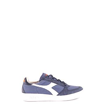 Diadora Blue Fabric Sneakers