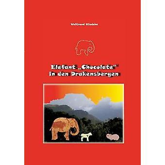 Elefant chocolat in Den Drakensbergen de Niedoba & Waltraud