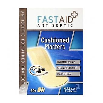 Fast Aid Cushioned Plaster 20S