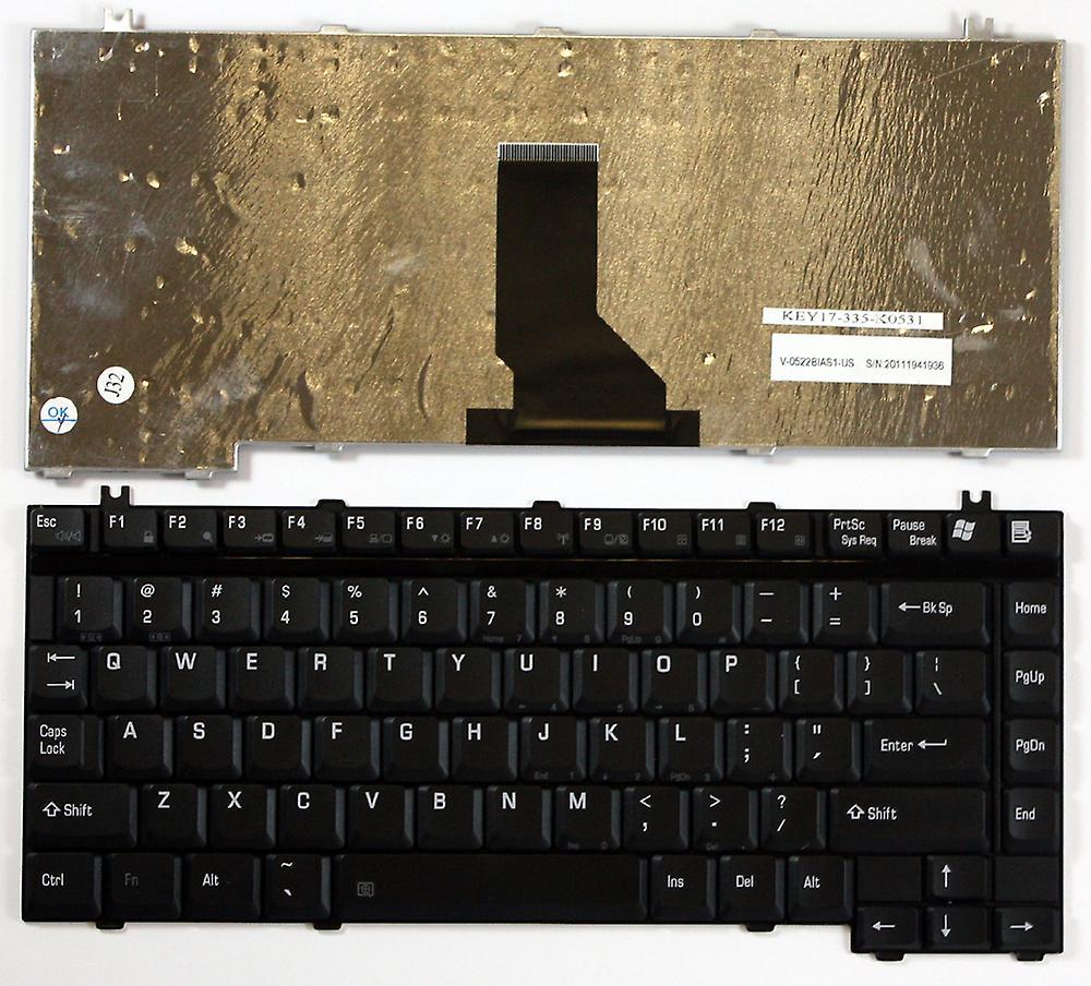 Toshiba Satellite P20-221 noir nous disposition clavier d'ordinateur portable de remplaceHommest