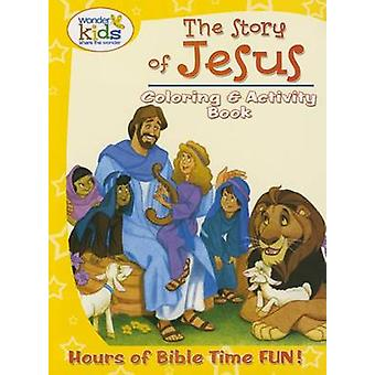The Story of Jesus Coloring and Activity Book by Concordia Publishing